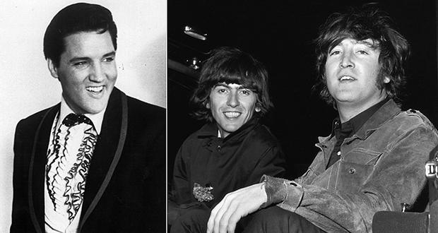 Beatles and Elvis