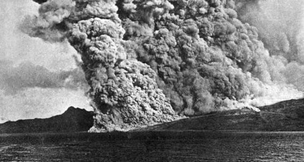 Mount Pelee eruption