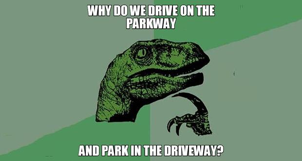 Park driveways