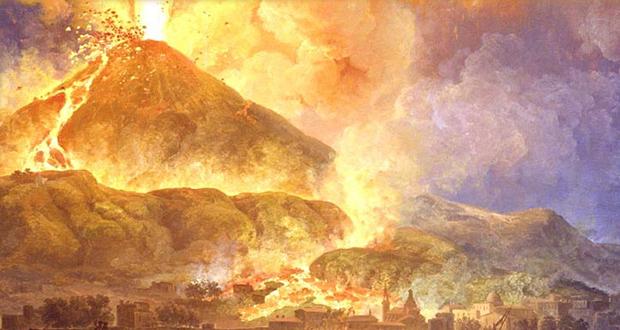 Vesuvius eruption