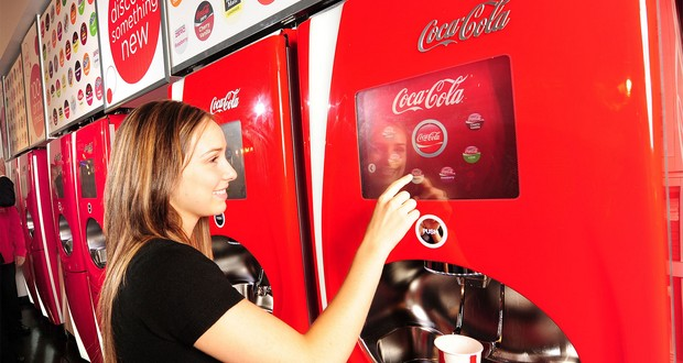 Coca-Cola Freestyle machines