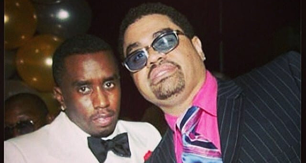Puff Daddy and Heavy D