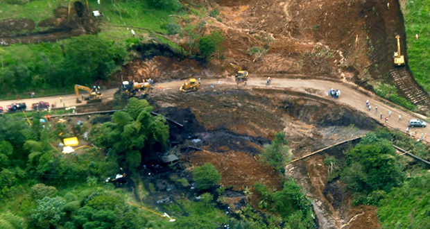 Ecuador oil spill