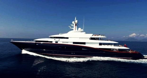 Frank Mulder's Gigayacht
