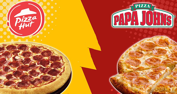 Pizza Hut and Papa Johns