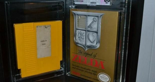 Legend of Zelda prototype cartridge