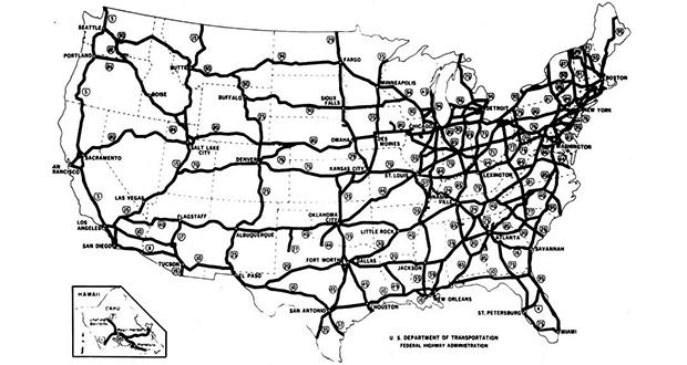 Eisenhower's Interstate Highway System