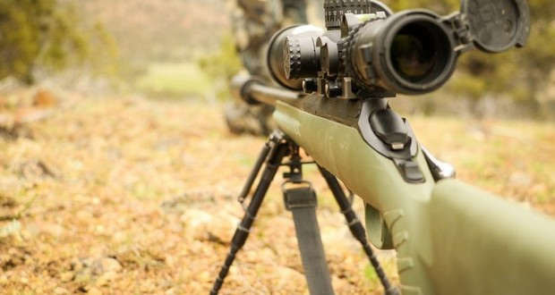 Marine's sniper rifle