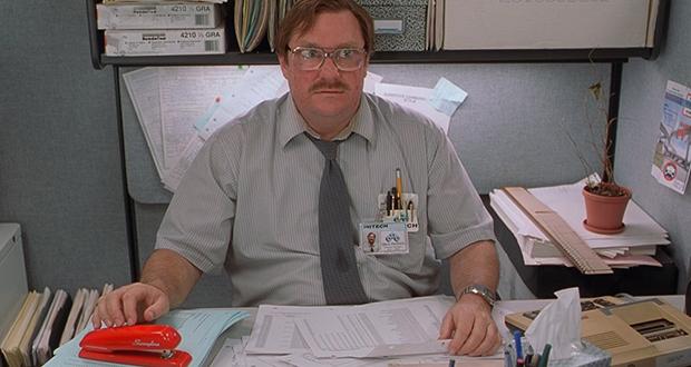 Swingline red stapler