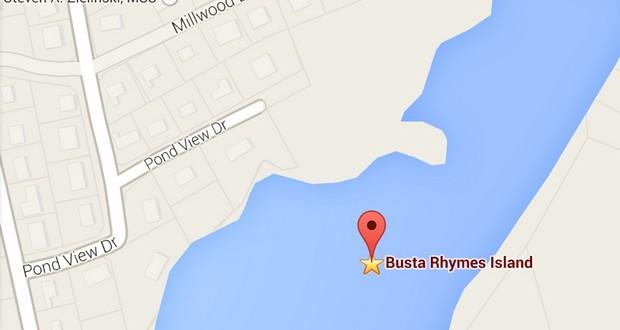 Busta Rhymes island