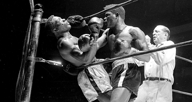 Benny Paret and Emile Griffith