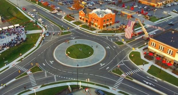 Carmel roundabouts