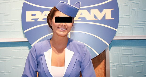 The Pan Am smile