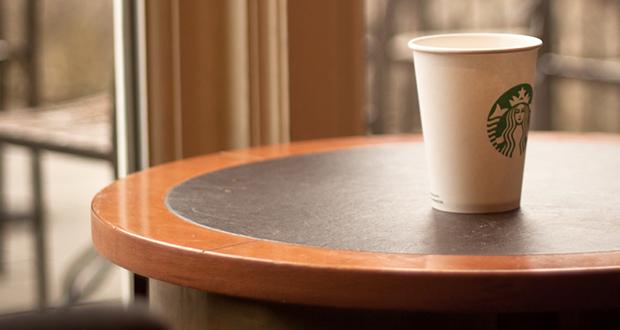 Starbucks round tables