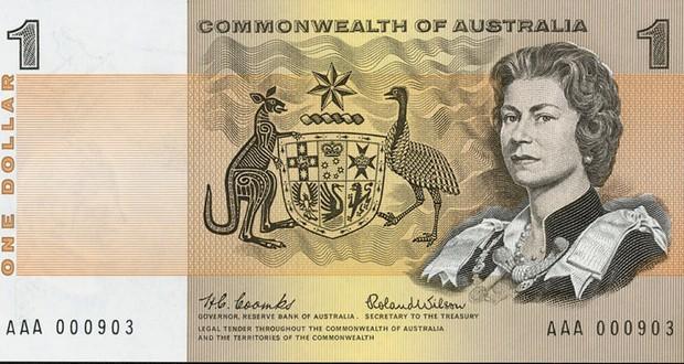 Australian $1 note
