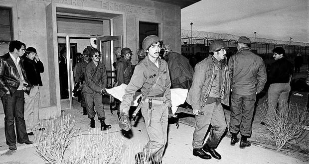 New Mexico prison riot