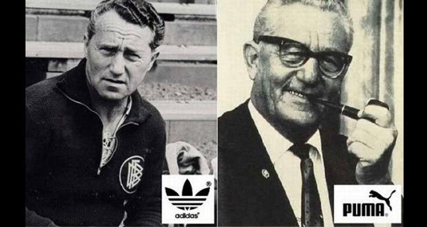Adolf and Rudolf Dassler