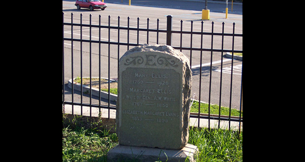 Mary Ellis grave