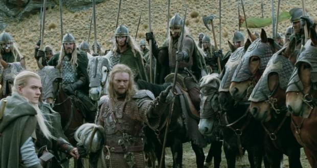 Men of Rohan riders