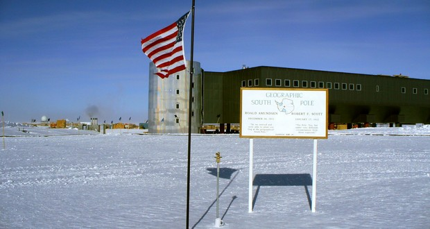 South Pole post office