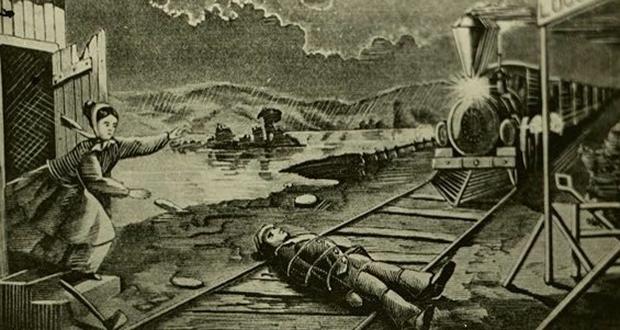 Train track villain