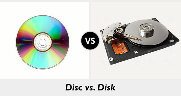 Disc and disk