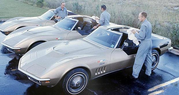 Astronauts Corvettes