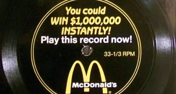 McDonald's flexi-disc
