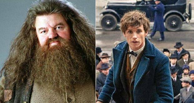 Scamander and Hagrid