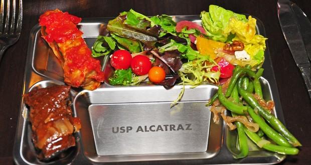 Alcatraz prison food