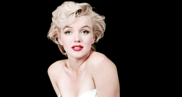Hugh Hefner and Marilyn Monroe