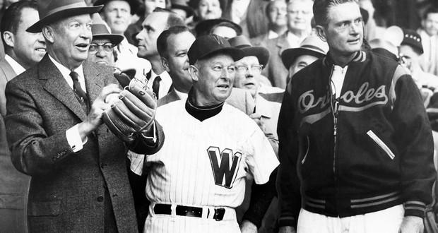 Eisenhower Baseball Controversy