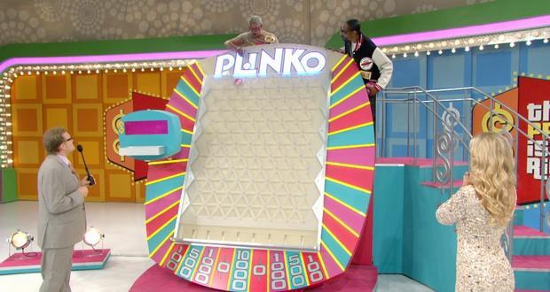 Plinko contestant