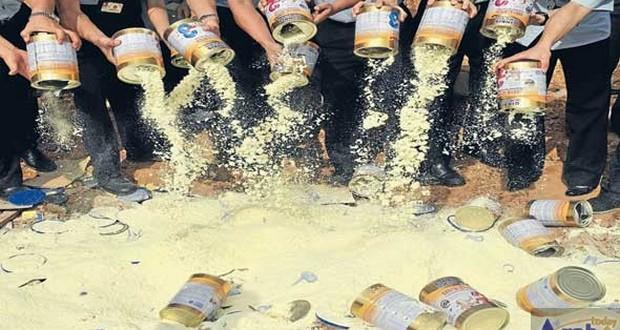 Chinese milk scandal