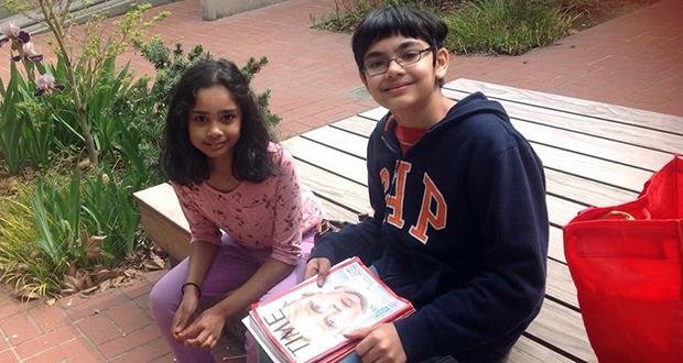 Tanishq and Tiara Abraham