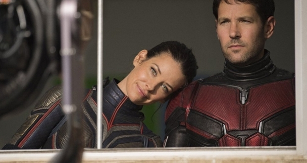 Paul Rudd and Evangeline Lilly