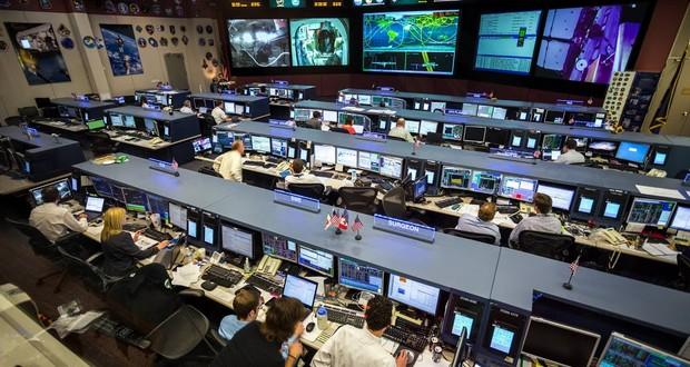 NASA ground controllers