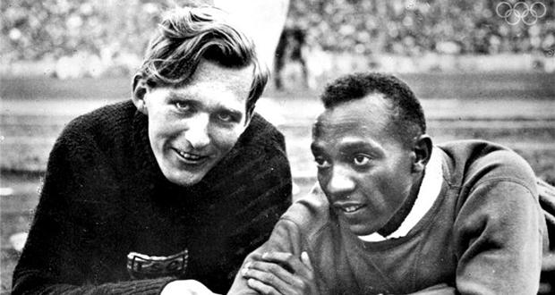 Luz Long and Jesse Owens