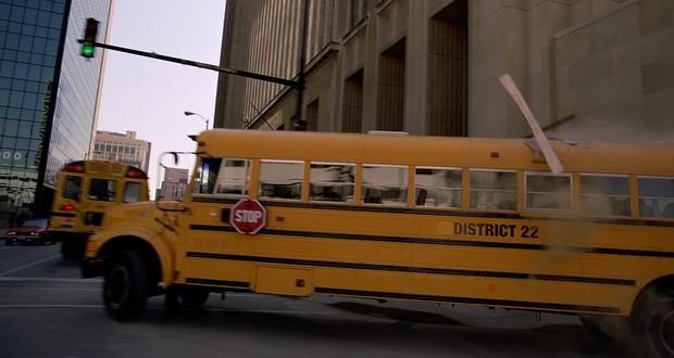 Dark Knight bus scene