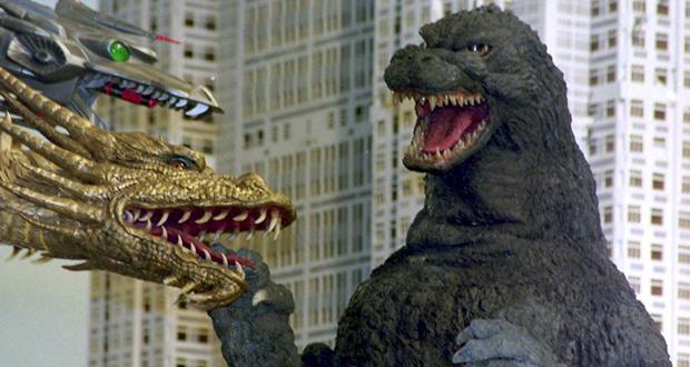King Ghidorah vs. Godzilla