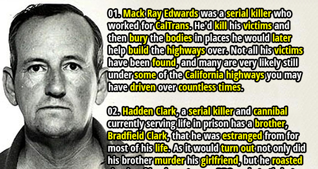 30 Dark Facts about Serial Killers - Part 2 | Fact Republic