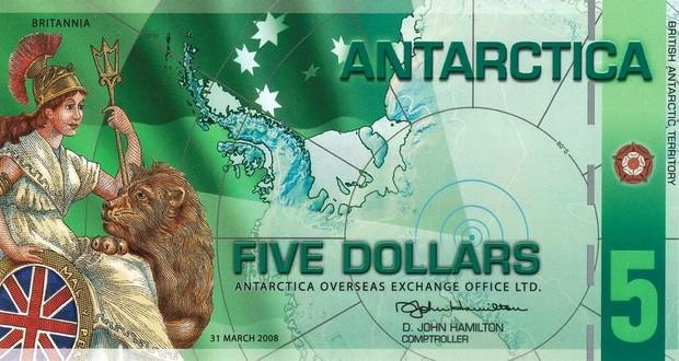 Antarctican dollars