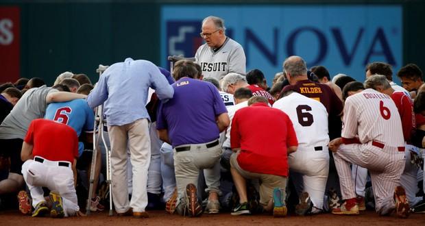 Congress baseball game