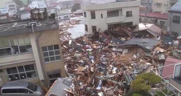 Kamaishi City tsunami