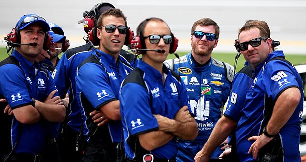 NASCAR pit crew member