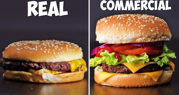 Commercial burgers