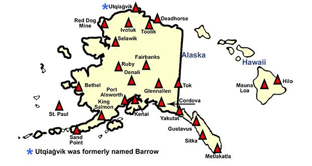Alaska and Hawaii
