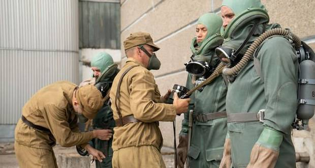 The Chernobyl divers