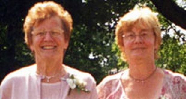Mildred Bowman and Alice Wardle