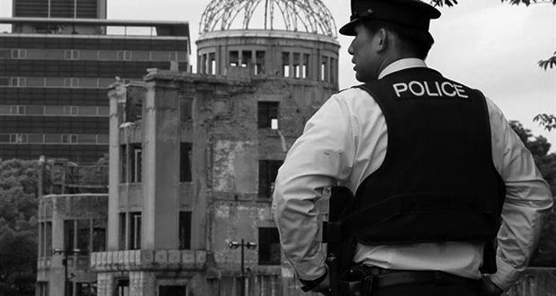Hiroshima policeman